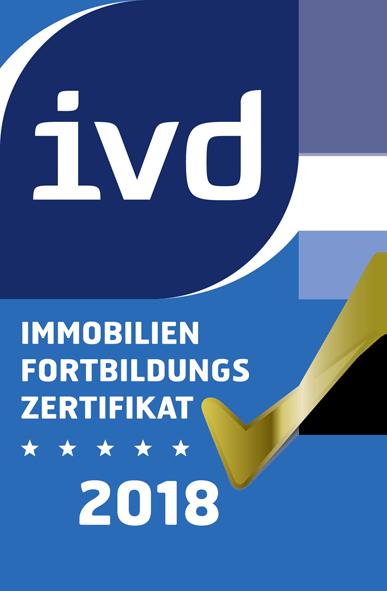 Immobilienfortbildungszertifikat 2018